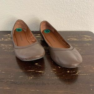 Lucky Brand | Brown leather ballet flats 8